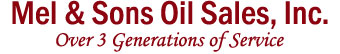 Mel and Sons Oil Sales Inc, Heating Oil Wakefield, Mass